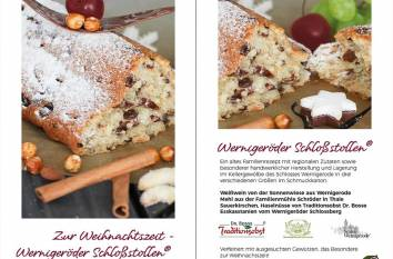 Cafe-Wiecker-Schlossstollen-Flyer